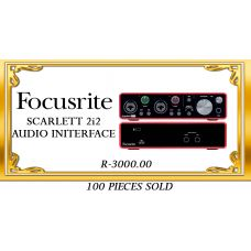 FOCUSRITE SCARLETT-2i2 AUDIO INTERFACE 3rd GENERATION