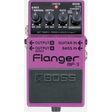 BOSS BF-3 EFFECTS PEDAL FLANGER