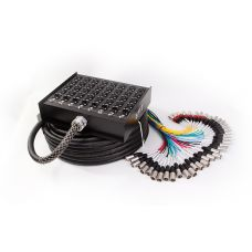 EWIC-PSPX 32 8 150S 32 Mic, 8 Return 150 Foot Snake Cable with Strain Relief