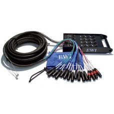 ewi pspx 16 8 150s Snake Cable 16 Mic, 8 Return 150 Foot Snake Cable with Strain Relief