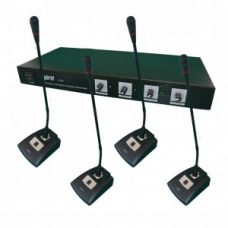 HYBRID VC4 WIRELESS CONFERENCE MICROPHONE SYSTEM