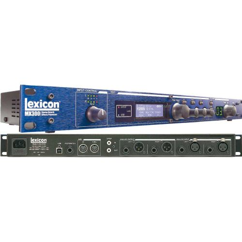lexicon mx300 stereo reverb effects processor with usb rh a1sound co za Effects Processor Lexicon MX300 Review